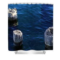 One Two Three 4 Shower Curtain