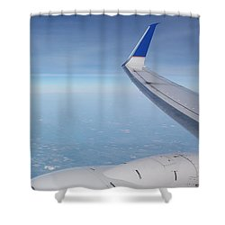 One Who Flies Shower Curtain