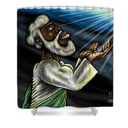 Oneness Of Christ And The Father Shower Curtain