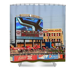Oneok Field 2 Shower Curtain