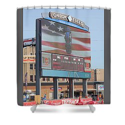 Oneok Field Shower Curtain