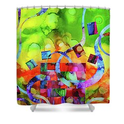 Ones Who Flew Away Shower Curtain