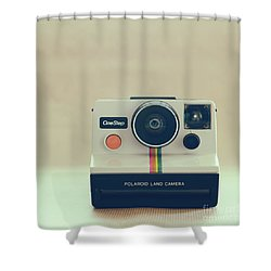 Onestep Polaroid Shower Curtain