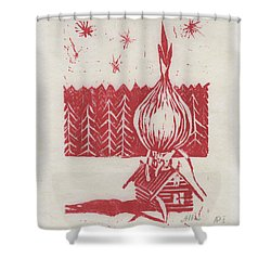Onion Dome Shower Curtain