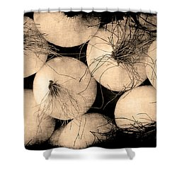 Onions Shower Curtain