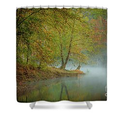 Shower Curtain featuring the photograph Only If I Go by Iris Greenwell