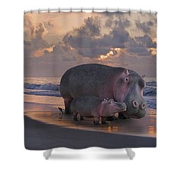 Only On Topsail The Best Kept Secret Shower Curtain