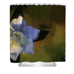 Shower Curtain featuring the photograph Only One by Ken Frischkorn
