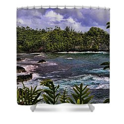 Onomea Bay Hawaii Shower Curtain