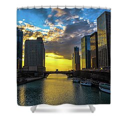 Onto The Lake Shower Curtain