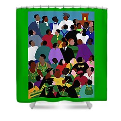 Onward And Upward Shower Curtain