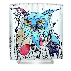 Onward II Shower Curtain