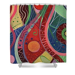 Onward Upward Shower Curtain