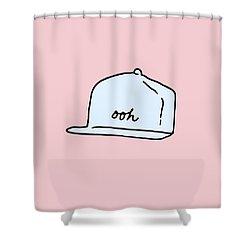 Ooh Hat Shower Curtain