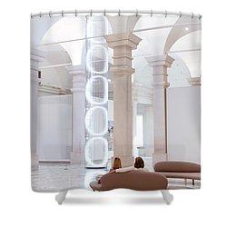 Ooooo Shower Curtain by Julie Niemela