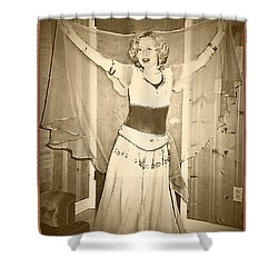 Shower Curtain featuring the photograph OPA by Denise Fulmer