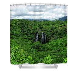 Opaeka Falls Shower Curtain