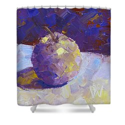 Opal In Lavender Shower Curtain