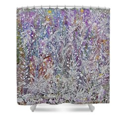 Opalescent Shower Curtain