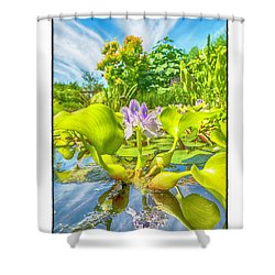Shower Curtain featuring the photograph Open Arms by R Thomas Berner