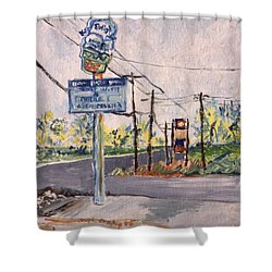 Open March 3 Shower Curtain