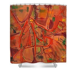 Open Paths One Shower Curtain