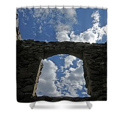 Open To The Sky Shower Curtain