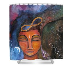 Open Your Mind To Infinite Possibilities Shower Curtain