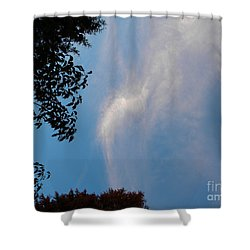 Opening Windows From Heaven Shower Curtain