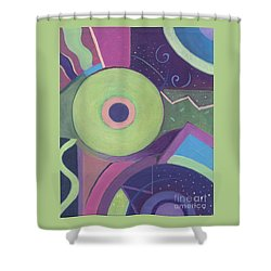 Openly Green Shower Curtain