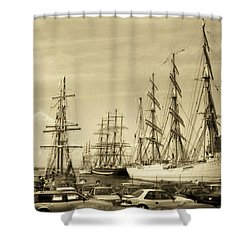 Operation Sail 1992 Brooklyn Shower Curtain