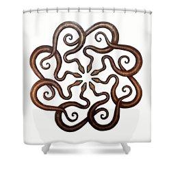 Ophidian Octet Shower Curtain