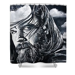 Opie Shower Curtain by Tom Carlton