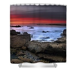 Shower Curtain featuring the photograph Opposites Attract by John Chivers