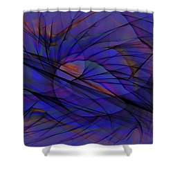 Opposition Shower Curtain by Alexis Baranek