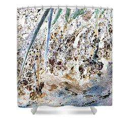 Mangrove Shoreline Shower Curtain