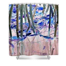 Mangrove Shoreline No. 2 Shower Curtain