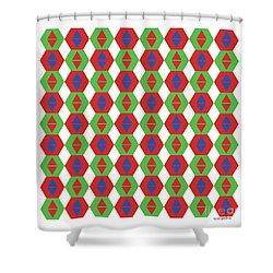 Optical Illusion No 3. Shower Curtain