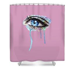 Optics  Shower Curtain