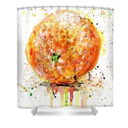 Orange 1 Shower Curtain