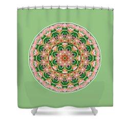 Orange Blush Shower Curtain