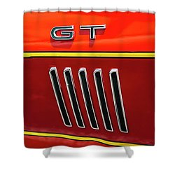 Orange Gt Shower Curtain