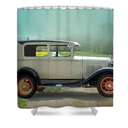 Shower Curtain featuring the photograph Orange Rims by Robin-Lee Vieira