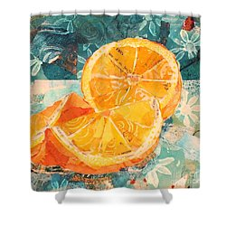 Orange You Glad? Shower Curtain