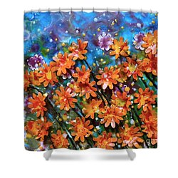 Orange You Sweet Shower Curtain