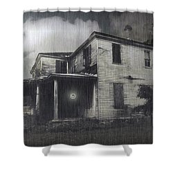 Orb Shower Curtain by Brian Wallace