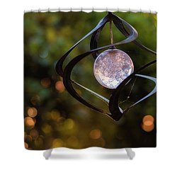 Orb Shower Curtain