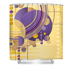Orbital Shower Curtain