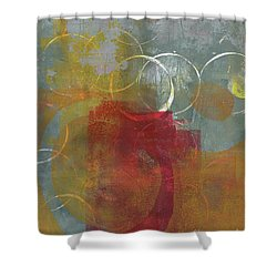 Orbs Shower Curtain
