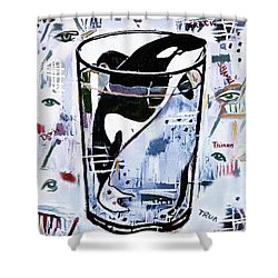 Orca #1 Shower Curtain